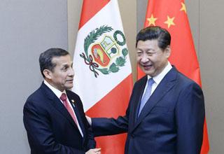 中国巴西秘鲁将共建