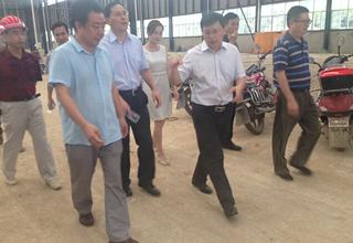 广元市委领导到美福